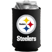 Pittsburgh Steelers Black Collapsible Can Cooler