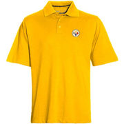 Mens Cutter & Buck Gold Pittsburgh Steelers DryTec Championship Polo