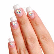 Pittsburgh Steelers 4-Pack Temporary Nail Tattoos