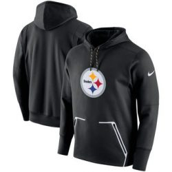 Pittsburgh Steelers Nike Champ Drive Vapor Speed Pullover Black Hoodie