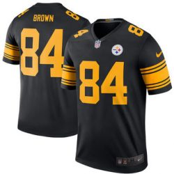 Pittsburgh Steelers Nike Rush Antonio Brown Jersey