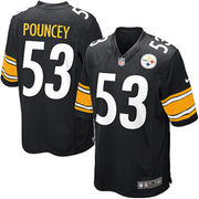 Maurkice Pouncey Pittsburgh Steelers Nike Youth Team Color Game Jersey - Black