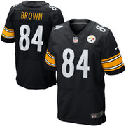 Antonio Brown Pittsburgh Steelers Nike Elite Jersey - Black