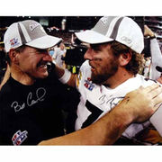 Ben Roethlisberger and Bill Cowher Pittsburgh Steelers Fanatics Authentic Dual Signed 16