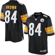 Antonio Brown Pittsburgh Steelers Nike Team Color Limited Jersey - Black