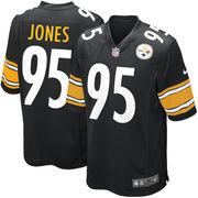Jarvis Jones Pittsburgh Steelers Nike Game Jersey - Black