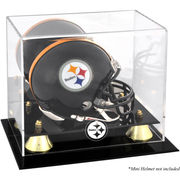 Pittsburgh Steelers Fanatics Authentic Golden Classic Mini Helmet Display Case