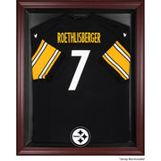 Pittsburgh Steelers Fanatics Authentic Mahogany Framed Jersey Display Case