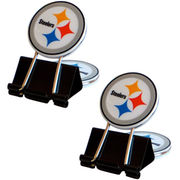 Pittsburgh Steelers 2-Pack Fan Clip