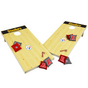 Wild Sports Pittsburgh Steelers XL Cornhole Tailgate Toss