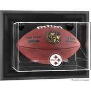 Pittsburgh Steelers Fanatics Authentic Black Framed Wall-Mountable Football Display Case