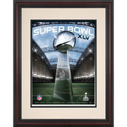 Fanatics Authentic 2011 Green Bay Packers vs. Pittsburgh Steelers 8.5