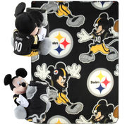 Pittsburgh Steelers Mickey Mouse Uniform Hugger & 40