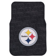 Pittsburgh Steelers Two Piece Front Car Mats