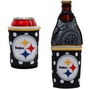 Pittsburgh Steelers Either/Or Can or Bottle Insulator Cooler