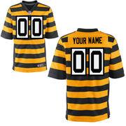 Pittsburgh Steelers Nike Custom Alternate Elite Jersey - Yellow
