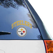 Pittsburgh Steelers 6'' x 6'' Arched Decal
