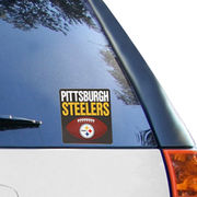 Pittsburgh Steelers 5'' x 7'' Football Repositionable Decal