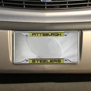 Pittsburgh Steelers Team Color Glitter Metal Frame - Gold/Black