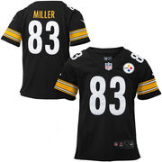 Heath Miller Pittsburgh Steelers Nike Youth Limited Jersey - Black