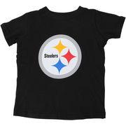 Pittsburgh Steelers Toddler Team Logo T-Shirt - Black