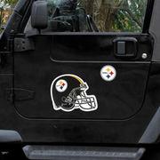 Pittsburgh Steelers Large Helmet Double Magnet Pack