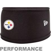 New Era Pittsburgh Steelers NFL Training Skull Performance Headband - Black