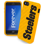 Pittsburgh Steelers Silicone iPhone 5 Cover - Gold