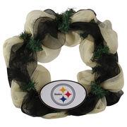 Pittsburgh Steelers Mesh Wreath