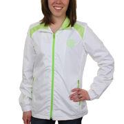 Pittsburgh Steelers Women's Highlight Full Zip Jacket - White/Neon Green