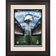 Fanatics Authentic 2011 Packers vs. Steelers Framed 10.5