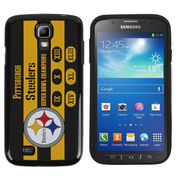Pittsburgh Steelers Commemorative Samsung Galaxy S4 Hard Cover - Black