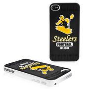Pittsburgh Steelers Retro Hard iPhone 4 Case -