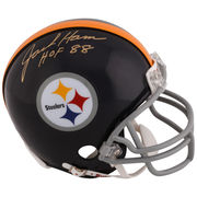 Jack Ham Pittsburgh Steelers Fanatics Authentic Autographed Riddell Mini Helmet with HOF 88 Inscription
