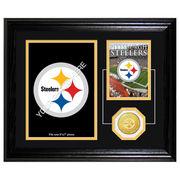 Pittsburgh Steelers 10'' x 12'' Framed Memories Desktop Photomint