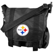 Pittsburgh Steelers Team Logo Diaper Bag - Black