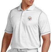 Antigua Pittsburgh Steelers Icon Polo - White