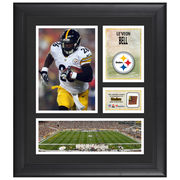 Le'Veon Bell Pittsburgh Steelers Fanatics Authentic Framed 15