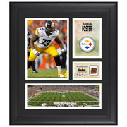 Ramon Foster Pittsburgh Steelers Fanatics Authentic Framed 15