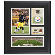 Landry Jones Pittsburgh Steelers Fanatics Authentic Framed 15