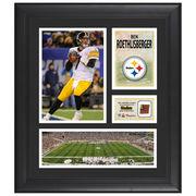 Ben Roethlisberger Pittsburgh Steelers Fanatics Authentic Framed 15