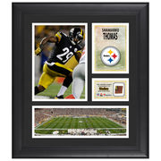 Shamarko Thomas Pittsburgh Steelers Fanatics Authentic Framed 15