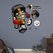 Fathead Pittsburgh Steelers NFL Rush Zone Wall Decal Set