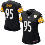 Jarvis Jones Pittsburgh Steelers Nike Women's Game Jersey - Black