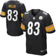Heath Miller Pittsburgh Steelers Nike Elite Jersey - Black