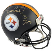 Pittsburgh Steelers Fanatics Authentic Autographed QBs Coaches 4 Signatures Pro-Line Riddell Authentic Helmet