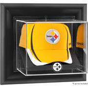 Pittsburgh Steelers Fanatics Authentic Black Framed Wall-Mountable Cap Logo Display Case