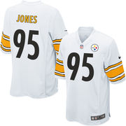 Jarvis Jones Pittsburgh Steelers Nike Youth Game Jersey - White