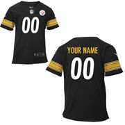 Nike Toddler Pittsburgh Steelers Customized Team Color Game Jersey