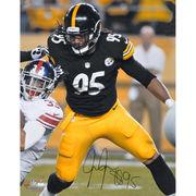 Jarvis Jones Pittsburgh Steelers Fanatics Authentic Autographed 16